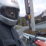 ハーレー、883Rのヘルメット